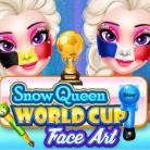 Soccer 2018 Face Art