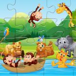 Animals Puzzle: Chillout While Building Your Free Jigsaw Puzzle!