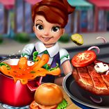 Play Cooking Fast Hotdogs and Burgers Craze Game