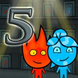 Fireboy and Watergirl 5 Elements: An Online Game to Play With Your Guest's Child
