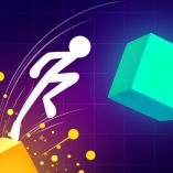 Get Ready To Jump And Slide With Your Stickman: Light It Up