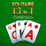 Solitaire 13 in 1 Collection: Online Solitaire Game with All Possible Combinations.